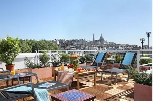 Citadines montmartre paris hotel paris france prix for Prix hotel en france