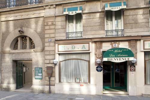 Hotel des arenes hotel paris france prix r servation for Prix des hotels a paris