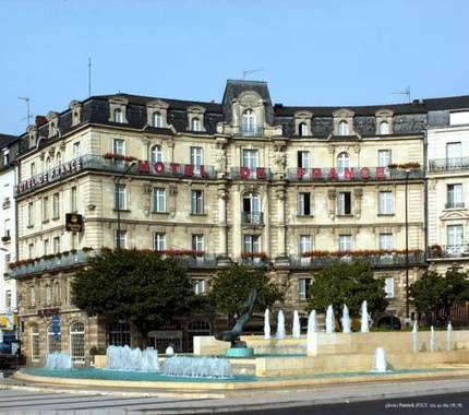 H tel de france hotel angers france prix r servation for Prix hotel en france