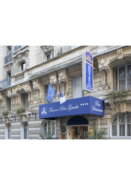 Best western trianon rive gauche hotel paris france for Prix hotel en france
