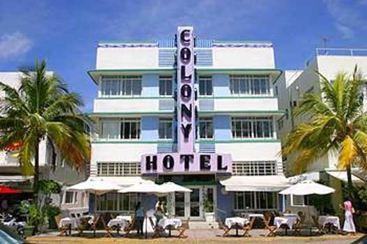 Colony Hotel, hotel Miami Beach - null - prix réservation ...