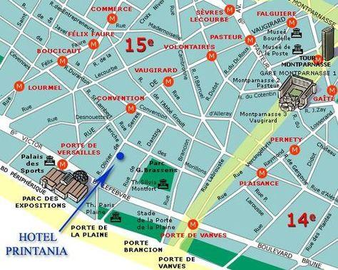 Plan Paris Porte de Versailles Paris Porte de Versailles