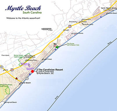 Best Western Plus Carolinian Oceanfront Inn And Suites Myrtle