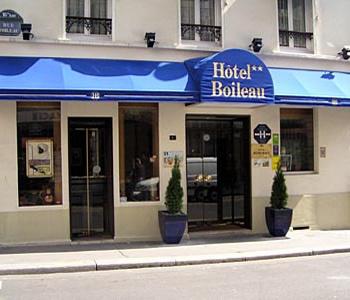 Boileau hotel paris france prix r servation moins for Reservation hotel paris pas cher