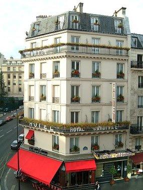Hotel royal cardinal hotel paris france prix for Prix hotel france