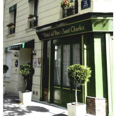 H tel du parc saint charles hotel paris france prix for Prix hotel france