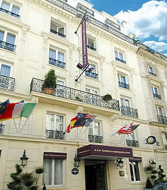 Cervantes hotel hotel paris france prix r servation for Hotel bas prix paris