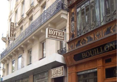 Hotel le petit belloy saint germain hotel paris france for Reservation hotel paris pas cher