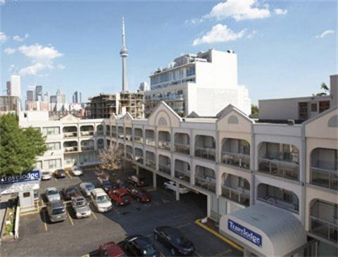 Downtown Toronto Hotels Map on