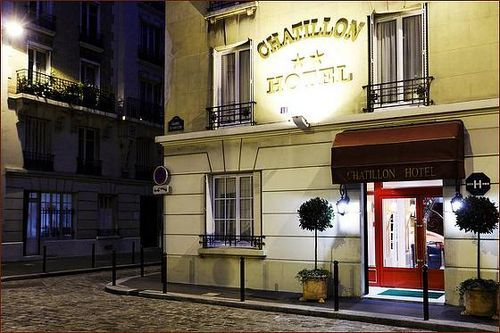Chatillon paris montparnasse hotel paris france prix for Reservation hotel paris pas cher