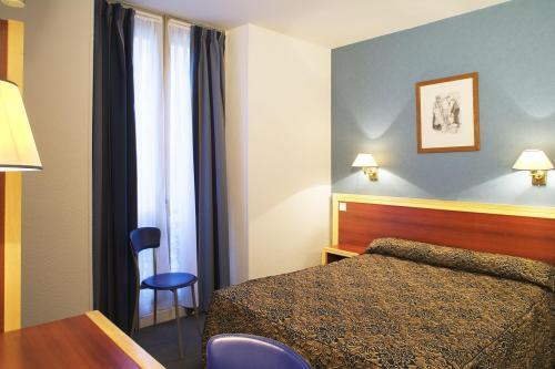 Hotel lyon mulhouse bastille hotel paris france prix for Reservation hotel paris pas cher