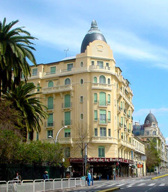 H tel de la buffa hotel nice france prix r servation for Prix des hotels en france