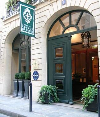 Hotel du prince de conti hotel paris france prix for Prix hotel en france
