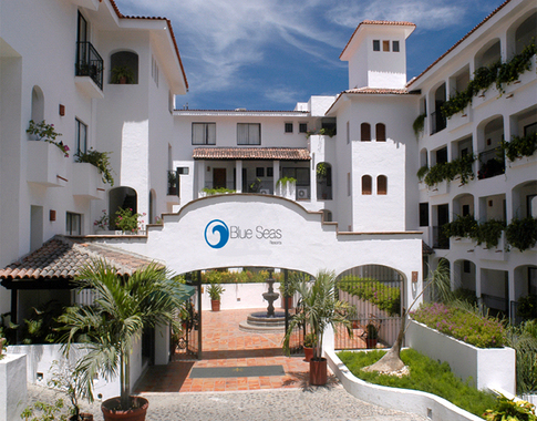 Blue Seas Old Town Gay Friendly Puerto Vallarta Hotel Mexico