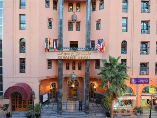 Diwane hotel spa marrakech hotel marrakech royaume du for Prix de hotel