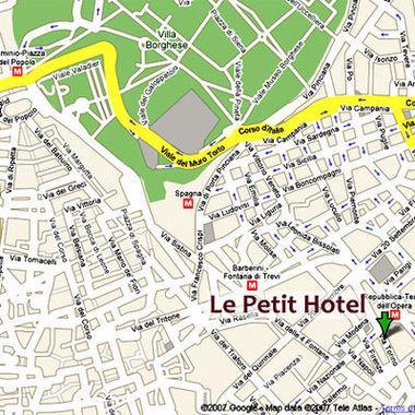 Hotel le petit hotel rome italie prix r servation for Hotel petit prix