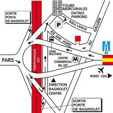 Ibis paris bagnolet bagnolet hotel france limited time offer - Hotel ibis porte de bagnolet ...