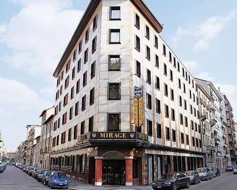 Hotel mirage hotel milano italie prix r servation for Prix hotel moins cher