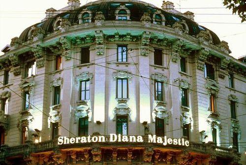 Sheraton diana majestic milano hotel italy limited time for Hotel diana milano