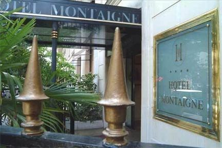 Hotel pavillon montaigne hotel paris france prix for Reservation hotel paris pas cher