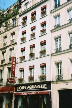 Aquarelle hotel hotel paris france prix r servation for Reservation hotel paris pas cher