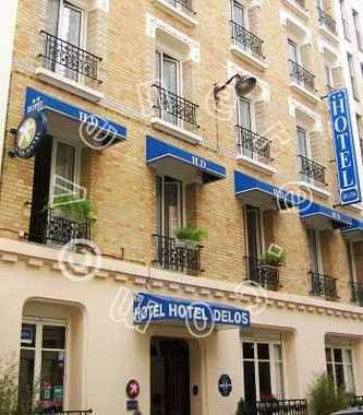 Delos vaugirard hotel paris null prix r servation for Reservation hotel paris pas cher