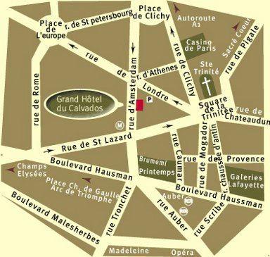 Grand Hotel Du Calvados Paris