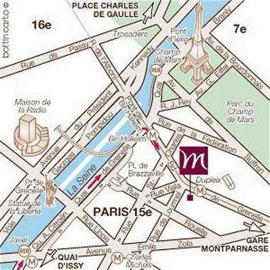 Hotel Grenelle  Boulevard De Grenelle  Paris