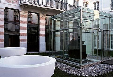 Kube hotel hotel paris france prix r servation moins for Reservation hotel paris pas cher