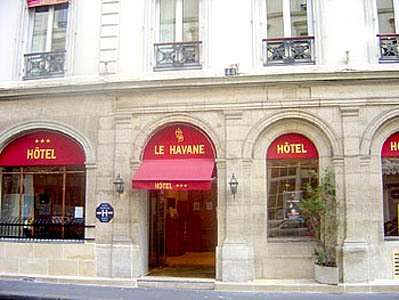 Havane hotel paris france prix r servation moins cher for Prix hotel en france