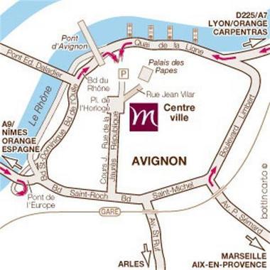 code promo 2d6de 1d65c Hotel Mercure Cite des Papes Avignon, Hotel France. Limited ...