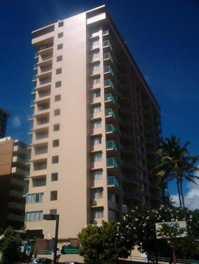 eugenia 39 s holiday rentals at aloha surf honolulu hotel. Black Bedroom Furniture Sets. Home Design Ideas