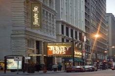 hampton inn majestic chicago theatre district hotel. Black Bedroom Furniture Sets. Home Design Ideas
