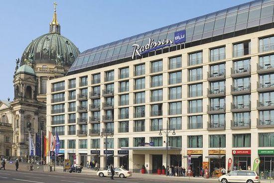 Radisson Blu Hotel Berlin Berlin Hotel Duitsland Tijdelijke