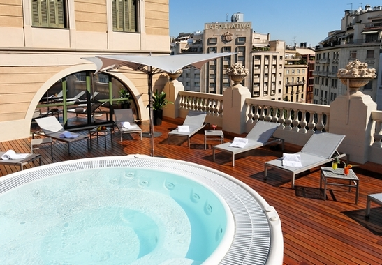 Eurostars bcn design barcelona hotel spain limited time for Design hotel barcelona