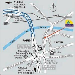 Suite home paris porte de pantin hotel pantin france for Prix des hotels en france