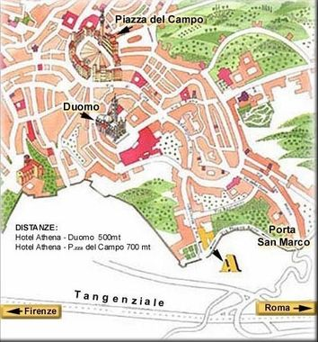 Hotel Athena Siena Italy