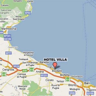 Hotel villa hotel bisceglie italie prix r servation for Reservation hotel italie