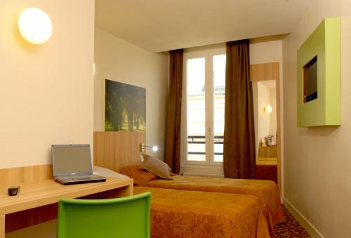 H tel balladins paris la villette hotel paris france for Prix hotel france