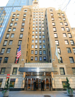 Hotel san carlos new york booking