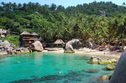 Charm churee village ban ko tao hotel thailand limited time offer - Ko tao dive resort ...