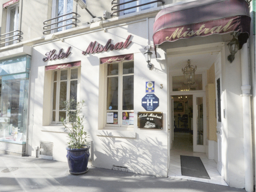 Mistral hotel hotel paris france prix r servation for Prix hotel en france