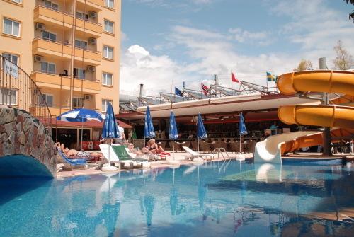 Hacibey apart hotel alanya hotell i tyrkia tilbud med for Appart hotel mediterranee