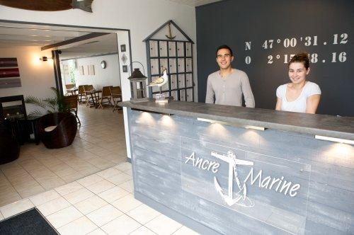 ancre marine noirmoutier en l 39 ile hotel france limited. Black Bedroom Furniture Sets. Home Design Ideas