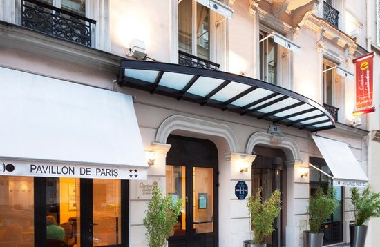 Clarion collection opera pavillon hotel paris france for Prix hotel en france